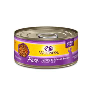 Picture of FELINE WELLNESS GF Pate Turkey & Salmon Entree - 24 x 5.5oz cans
