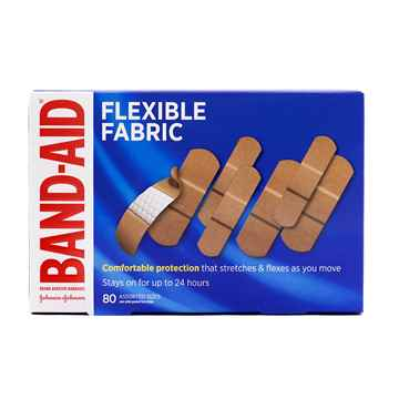 Picture of BAND-AID STRIPS ASSORTED FLEXIBLE FABRIC - 80s