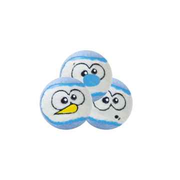Picture of XMAS TOY CANINE OUTWARD HOUND Snowballz - 3/pk (nr)