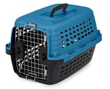 Picture of KENNEL CAB Compass Fashion Color Blue/Black - 24.6 x 17 x 15in