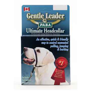 Picture of GENTLE LEADER/ADJUSTABLE HEADCOLLAR -SM/BLACK