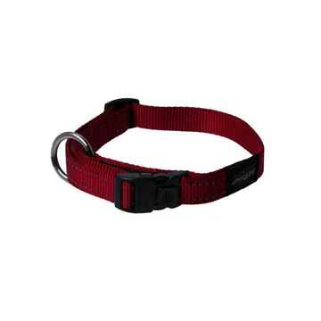 Picture of COLLAR ROGZ UTILITY LANDING STRIP Red - 1- 5/8in x 20-32in