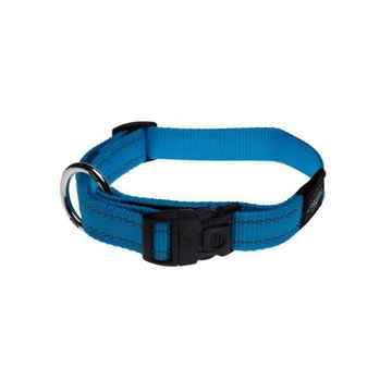 Picture of COLLAR ROGZ UTILITY LANDING STRIP Turquoise - 1- 5/8in x 20-32in(tu)