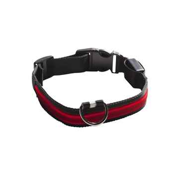 Picture of COLLAR EYENIMAL LED LIGHTED COLLAR  X-Small - Red(nr)