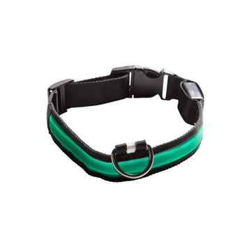 Picture of COLLAR EYENIMAL LED LIGHTED COLLAR  X-Small - Green(nr)