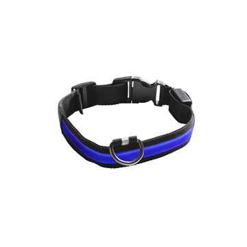 Picture of COLLAR EYENIMAL LED LIGHTED COLLAR  Small - Blue(nr)