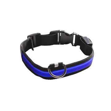 Picture of COLLAR EYENIMAL LED LIGHTED COLLAR  X-Large - Blue(nr)