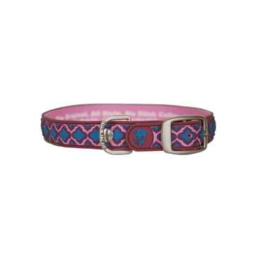 Picture of COLLAR DUBLIN DOG BABYLON Red Large - 1in x 17 - 21.5in