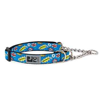 Picture of COLLAR RC Training Adjustable Comic Sounds Blue  - 1in x 14-20in