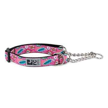 Picture of COLLAR RC Training Adjustable Comic Sounds Pink - 1in x 18-26in