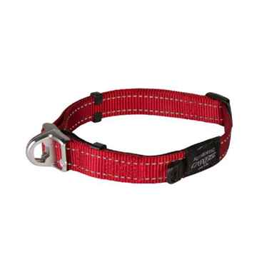 Picture of COLLAR ROGZ SAFETY CONTROL SNAKE Red -  5/8in x 10.5-15in