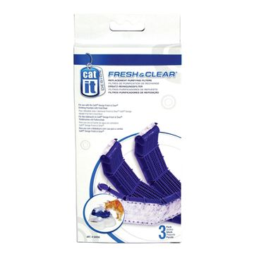 Picture of CATIT DRINKING FOUNTAIN 3 liter REPL FILTER CARTRIDGE -3/pk