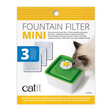 Picture of CATIT SENSES 2.0 MINI FLOWER FOUNTAIN Replacement Filters - 3/pk