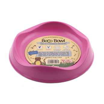 Picture of BOWL FELINE BECO BIODEGRADABLE Pink - 0.25 liters