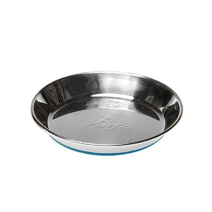 Picture of BOWL ROGZ CAT SS Anchovy Blue Non Skid Bottom - 200ml(tu)