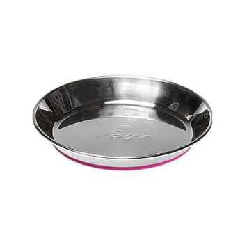Picture of BOWL ROGZ CAT SS Anchovy Pink Non Skid Bottom - 200ml