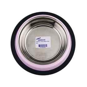 Picture of BOWL SS FASHION ANTI SKID Pink (J0804X) - 8oz