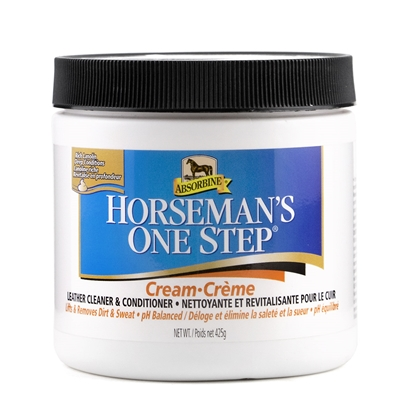 Picture of ABSORBINE HORSEMAN'S ONE STEP LEATHER CREAM - 15oz