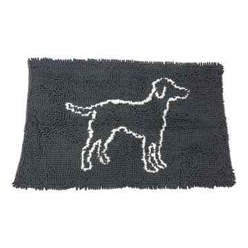 Picture of MAT CLEAN PAWS MICRO-FIBER MAT Grey - 35in x 24in