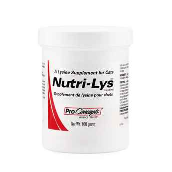 Picture of NUTRI-LYS POWDER L-LYSINE SUPPLEMENT for CATS - 100gm