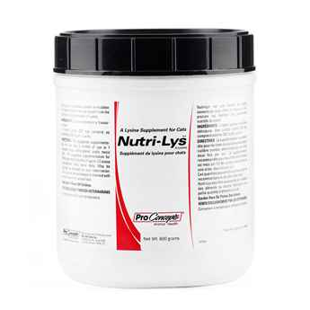 Picture of NUTRI-LYS POWDER L-LYSINE SUPPLEMENT for CATS - 600gm