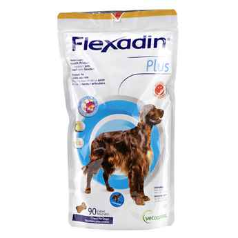 Picture of FLEXADIN PLUS CHEW for MEDIUM and LARGE DOGS - 90's