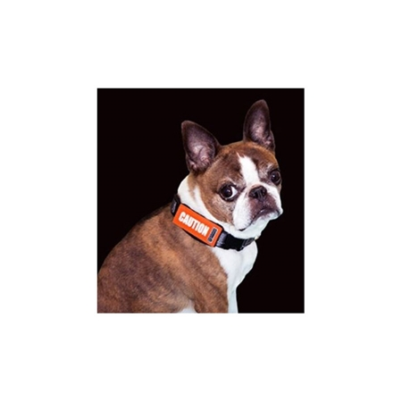 Picture of BARK NOTE MESSAGE 3/4in SLEEVE for Collar or Lead - Caution