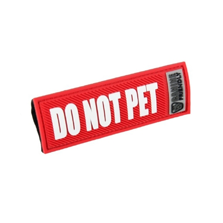 Picture of BARK NOTE MESSAGE 3/4in SLEEVE for Collar or Lead  - Do Not Pet