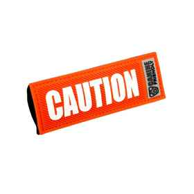 Picture of BARK NOTE MESSAGE 1in SLEEVE for Collar or Lead - Caution