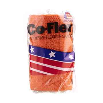 Picture of COFLEX BANDAGE ORANGE - 4in x 5yds