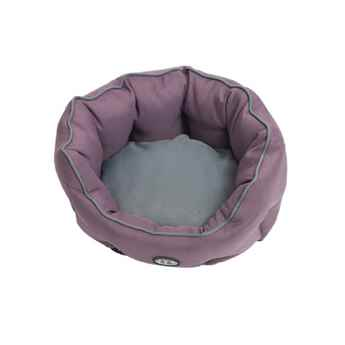 Picture of PET BED Buster Cocoon Style Black Plum / Grey - 18in