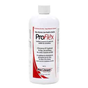Picture of PROFLEX GLUCOSAMINE SUPPLEMENT for CATS-DOGS-HORSES - 16oz