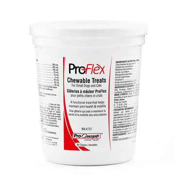 Picture of PROFLEX CHEWABLE TREATS for SMALL DOGS & CATS - 90s