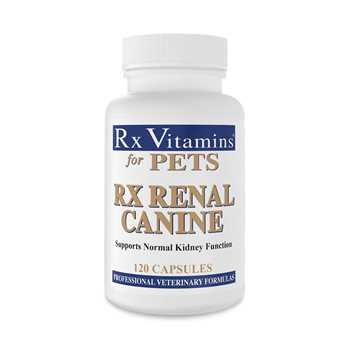 Picture of RX VITAMINS RX RENAL FOR CANINE CAPSULES - 120's