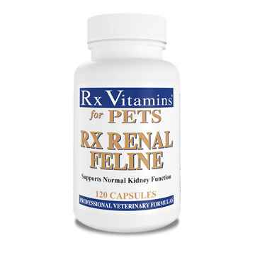 Picture of RX VITAMINS RX RENAL FOR FELINE CAPSULES - 120's