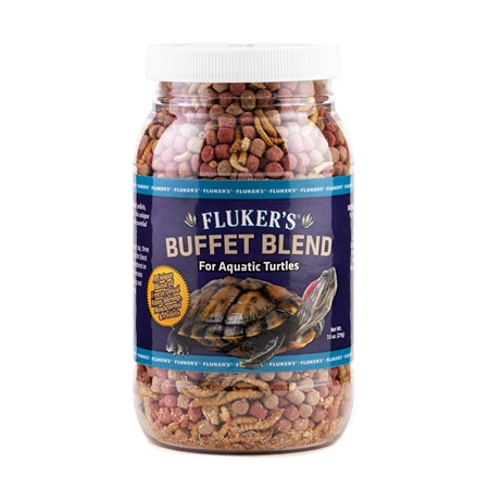 Picture of FLUCKERS AQUATIC TURTLE BUFFET BLEND - 8oz