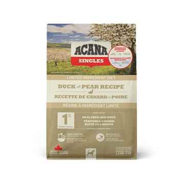 Picture of CANINE ACANA SINGLES Duck with Pear - 1.8kg