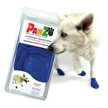 Picture of BOOTS PAWZ NATURAL RUBBER K/9 BOOTS Medium Blue -12/pk