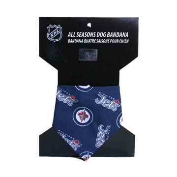 Picture of BANDANA NHL GEAR Winnipeg Jets Logo (S-XL)