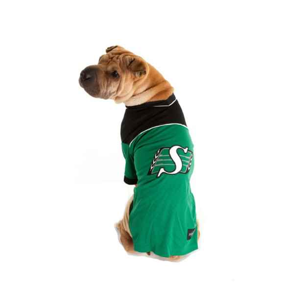 Picture of CLOTHING K/9 CFL JERSEY Large - Saskatchewan Roughriders