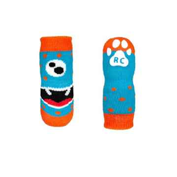 Picture of PAWks K/9  ANTI SLIP SOCKS Hangry Monster (XS-L)