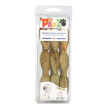 Picture of BOOTS PAWZ NATURAL RUBBER K/9 BOOTS Tiny Camo  - 12/pk