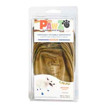 Picture of BOOTS PAWZ NATURAL RUBBER K/9 BOOTS Medium Camo  - 12/pk