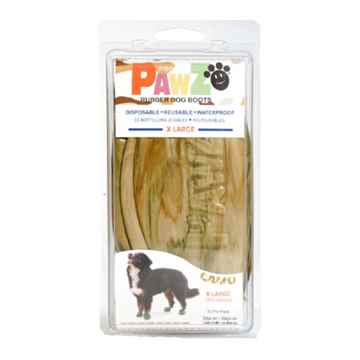 Picture of BOOTS PAWZ NATURAL RUBBER K/9 BOOTS X Large Camo  - 12/pk