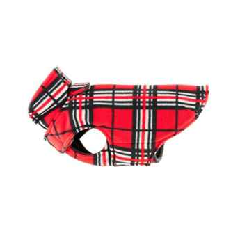 Picture of COAT RC WHISTLER WINTER WEAR Red Tartan - Size 16