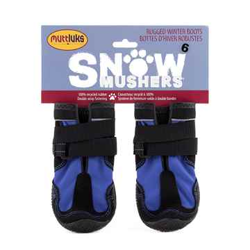 Picture of BOOTS MUTTLUK DOG SNOW MUSHERS Medium Blue - 2/pk
