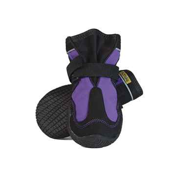 Picture of BOOTS MUTTLUK DOG SNOW MUSHERS Med/Lrg Purple - 2/pk(tu)