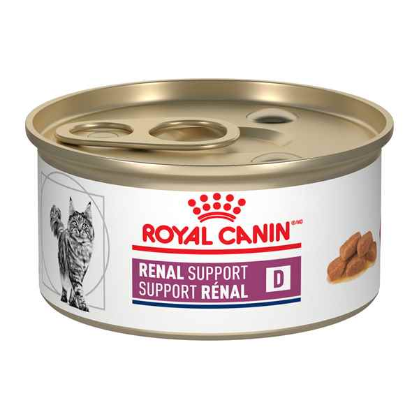 Picture of FELINE RC RENAL SUPPORT D - 24 x 85gm cans