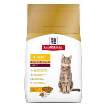 Picture of FELINE SCI DIET ADULT URINARY & HAIRBALL - 7lb