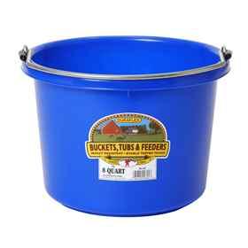 Picture of BUCKET PLASTIC  8 QUART - Blue